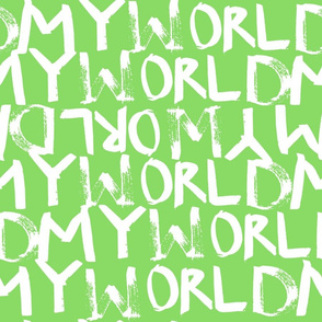My World in Bright Green