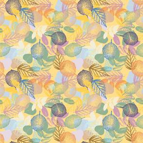 leaf beach yellow