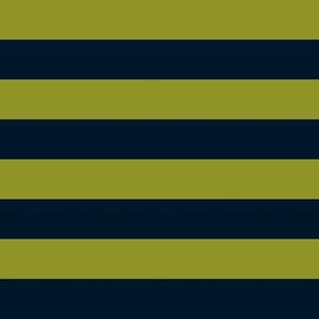Teal Green Stripes
