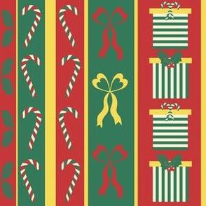 Christmas Themed Stripe