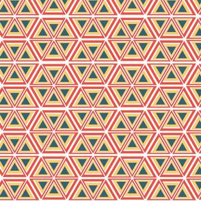 Triangle Africana White Background