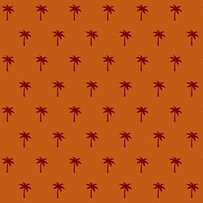 Palm Motif Pattern