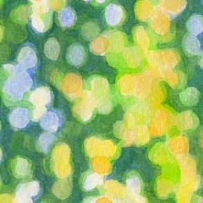 Sunny spring day watercolor (bigger scale, vertical)