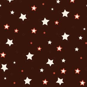 Zodiac Stars Black Background