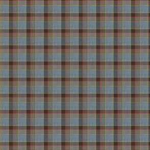 Fraser Weathered Wool Scottish Tartan