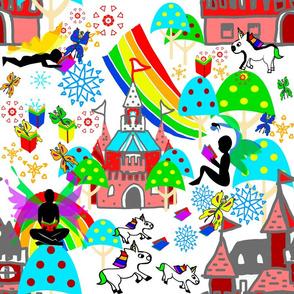 Fairytale reader world