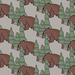 Bears In the Woods Bears