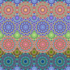 Granny Quilt - Kaleidoscopic Windows