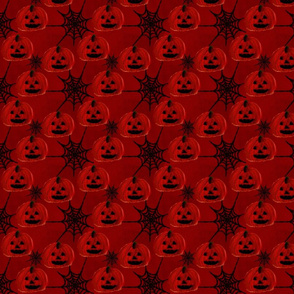 Pumpkins and Webs