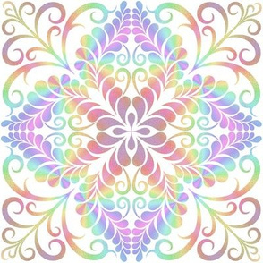 A colourful Feather Kaleidoscope