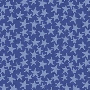 starfish stars dusk
