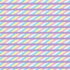 Marshmallow Twist - purple, small scale