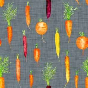 Organic Carrots // Slate Gray