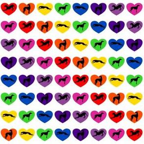 Greyt Rainbow Hearts