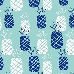 Pineapple summer hawaiian print (small)