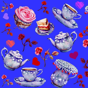 Blue Tea Time