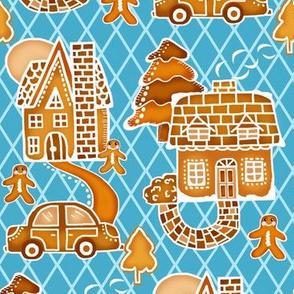 Cookie Town / Gingerbread house Neighborhood