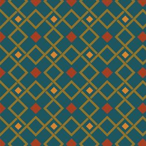 Geometric pattern for cushion