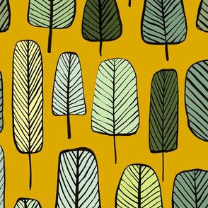 trees ochre