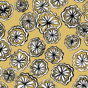flower ochre