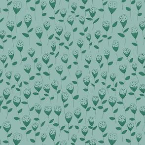 flowers lightgreen