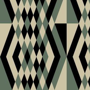 Diamond Stripes, Large-Scale