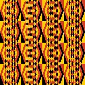 Diamond Stripes in Squares 2