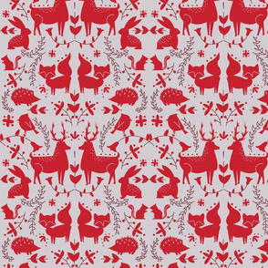 Forest Animals- Red Coloration