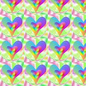 Multicolour Hearts