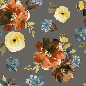 """8"""" Serengeti Florals Tan"""
