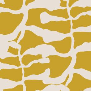 Jumbo shaky leaf tendril mustard