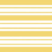 Yellow & White Stripes | LARGE