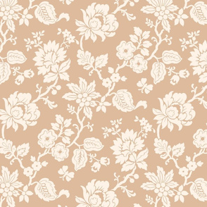 Neutral Traditional Floral