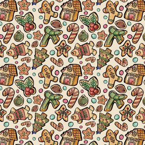 LH_Gingerbread Pattern