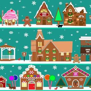 Gingerbread House Village