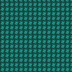 Square Spirals Small Bright