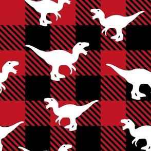 Tyrannosaurus Plaid