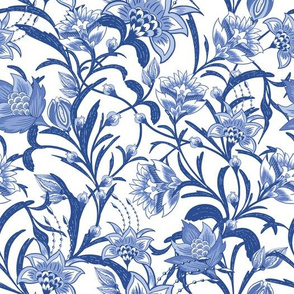 Chintz China Blue