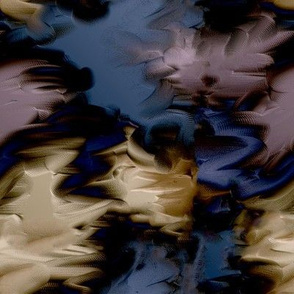 Abstract Painting - Blue Purple