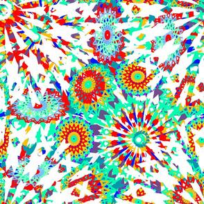 kaleidoscope work together white