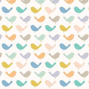 little birdie mustard blush