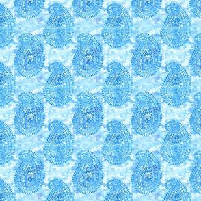 Mora paisley turquoise MINI