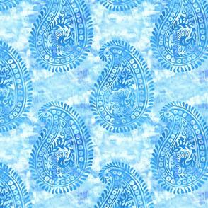 Mora paisley turquoise LARGE
