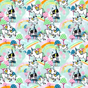 Unicorns Wonderland small repeat