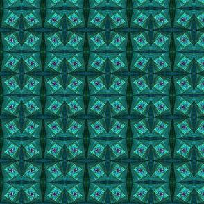 Square Spirals Medium Reverse Bright
