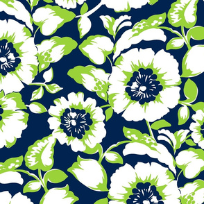 Tropical Joie Floral- Citron