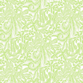 Light Green Tropical Willow