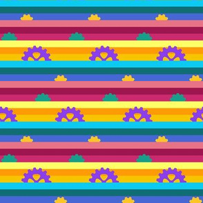 Carousel Stripes Small