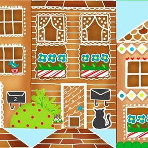 Gingerbread Town Houses