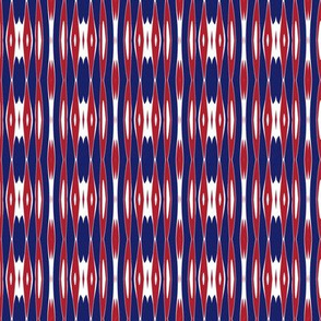 Montreal Canadiens Hockey Vertical Stripes Team Colors Blue Red White